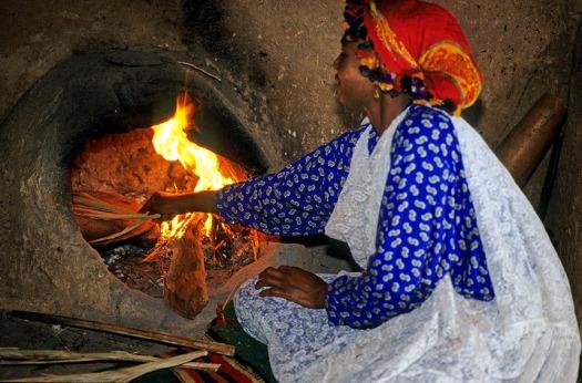 Cuisine berbere a la Kasbah Baa-Baa