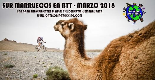 poster BTT Marruecos