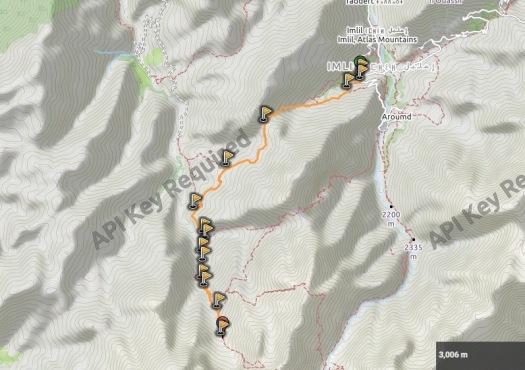Trekking Tazarhart - Azzadene 1r dia