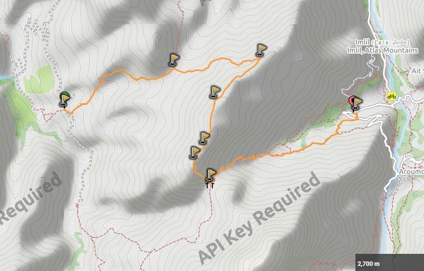 Trekking Tazarhart - Azzadene 3r dia