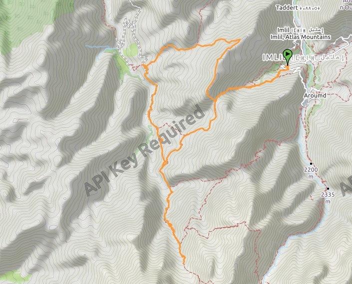 Trekking Tazarhart - Azzadene completo
