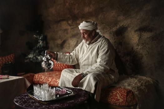 APphoto_APTOPIX Mideast Morocco Atlas Berbers Photo Essay