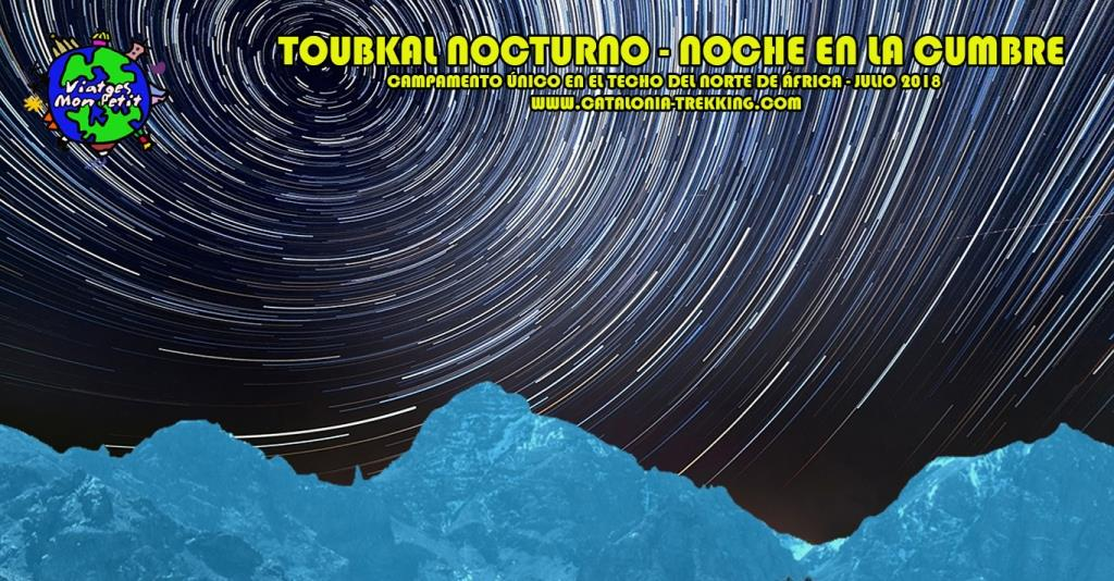 poster Toubkal nocturno