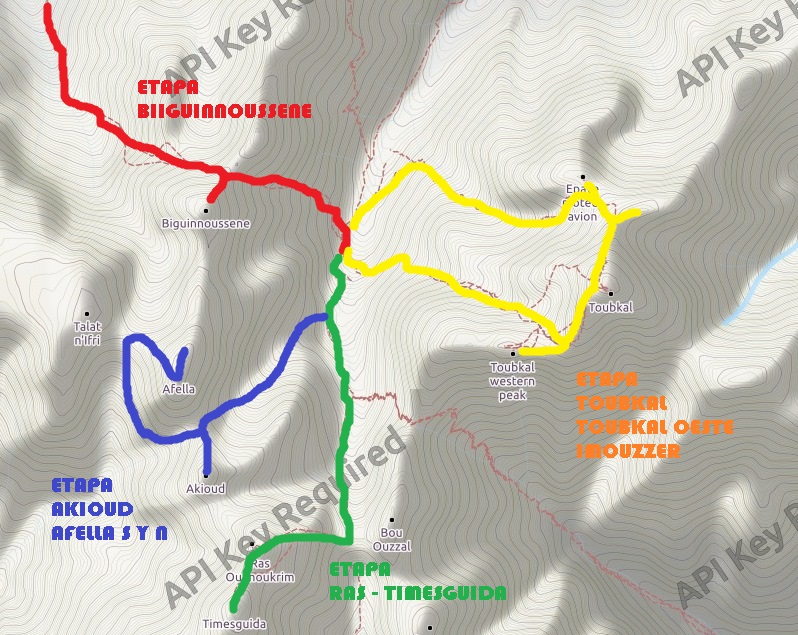mapa caza 4miles