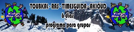 banner TOUBKAL RAS AKIOUD 6 dias