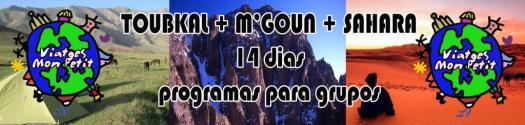 banner Toubkal + Mgoun + Sahara