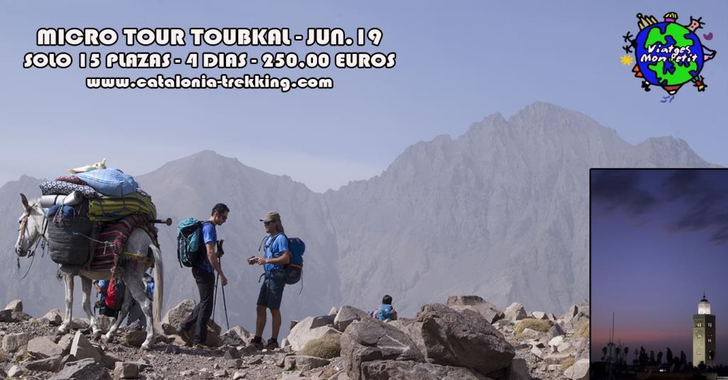 poster Micro Tour Toubkal